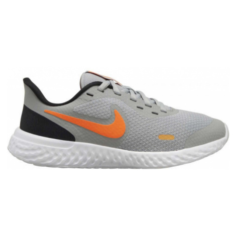 Nike REVOLUTION 5 (GS) gray - Kids' running shoes
