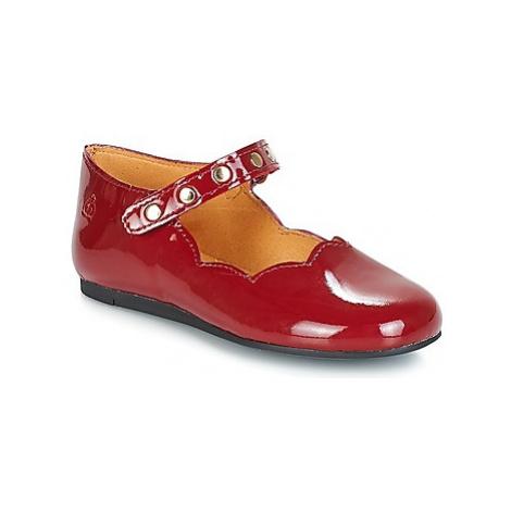 Citrouille et Compagnie JAVITE girls's Children's Shoes (Pumps / Ballerinas) in Red