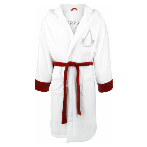 Assassin's Creed - Logo - Bathrobe - white