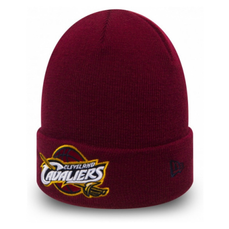 New Era TEAM ESSENTIAL CLEVELAND CAVALIERS red wine - Men's knitted hat
