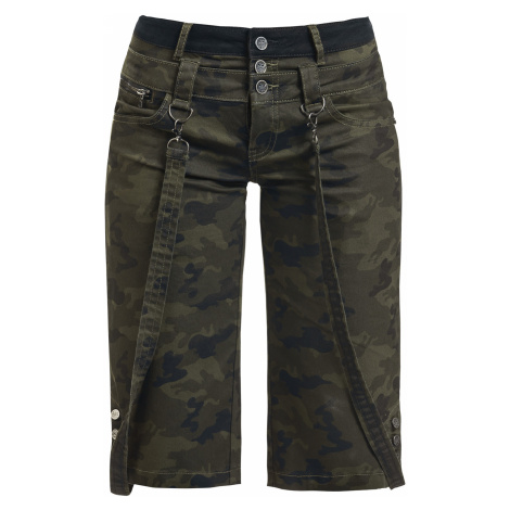Black Premium by EMP - Pick Up The Pieces - Girls shorts - camouflage