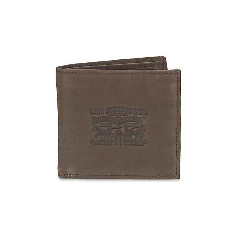 Levis DENIM LINED men's Purse wallet in Brown Levi´s