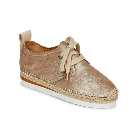 See by Chloé SB30222 women's Espadrilles / Casual Shoes in Gold