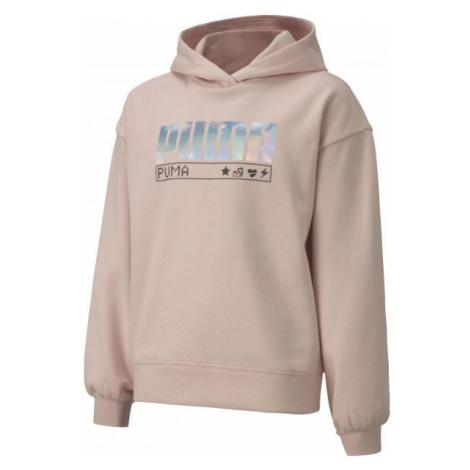 Puma ALPHA HOODIE FL G - Girls' hoodie