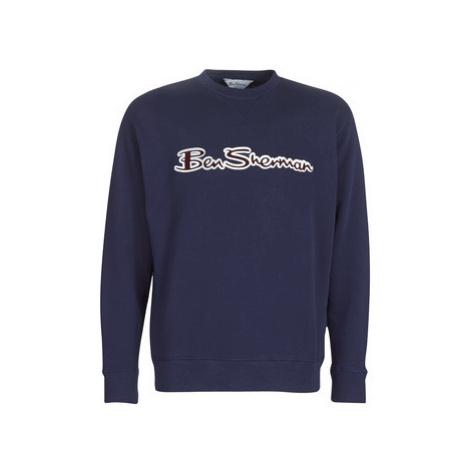 Ben Sherman ARCHIVE LOGO SWEAT men's Sweatshirt in Blue