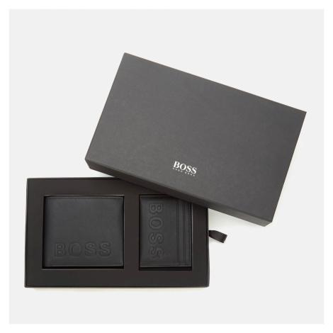 BOSS Men's Gbbm214_8 Cc S Wallet and Card Holder Set - Black Hugo Boss