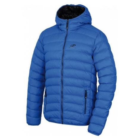 Blue men's winter jackets