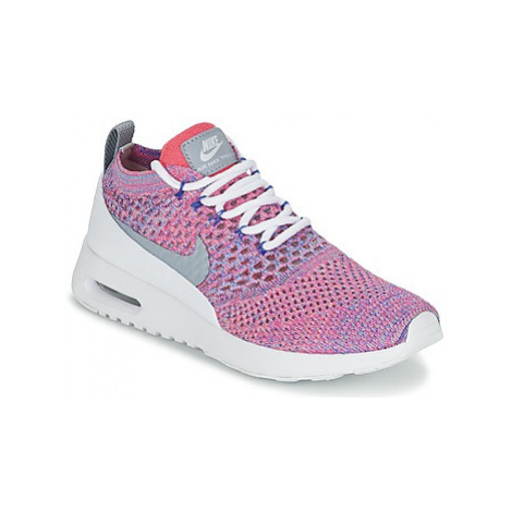 Nike AIR MAX THEA ULTRA FLYKNIT W women's Shoes (Trainers) in Pink