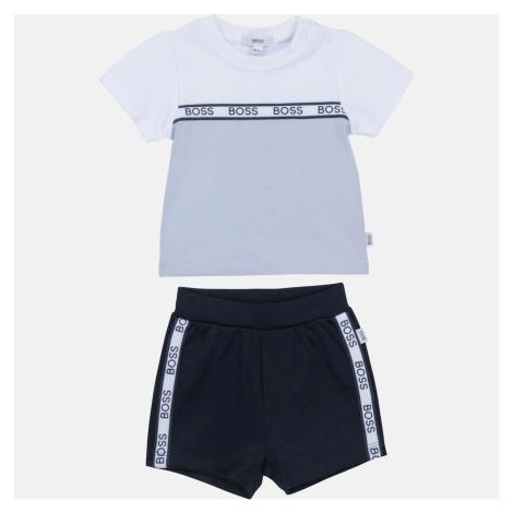 Hugo Boss Baby Boys' T-Shirt and Bermuda Shorts Set - Blue
