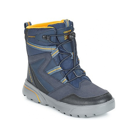 Geox J SVEGGEN BOY B ABX boys's Children's Snow boots in Blue