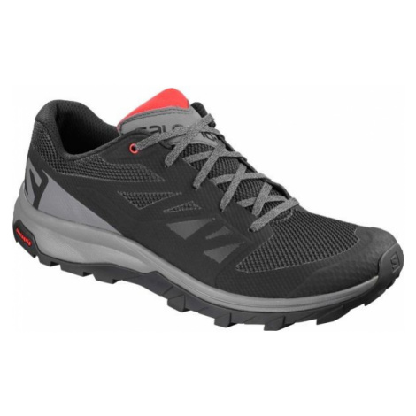 Salomon OUTLINE grey - Men's hiking shoes