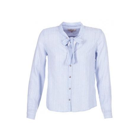 Cream CAMA STRIPED SHIRT women's Shirt in Blue