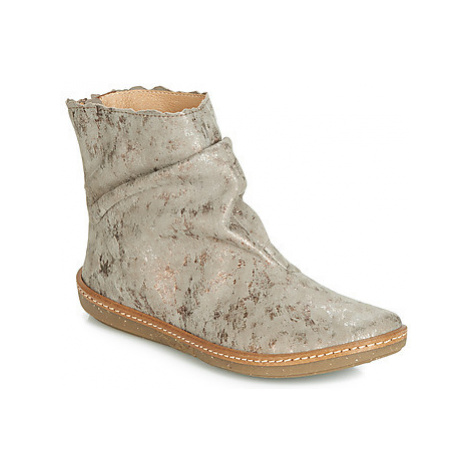 El Naturalista CORAL women's Mid Boots in Grey