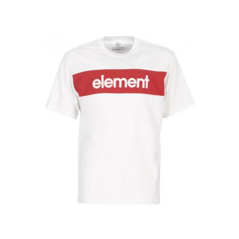 Element PRIMO FLAG CR men's T shirt in White
