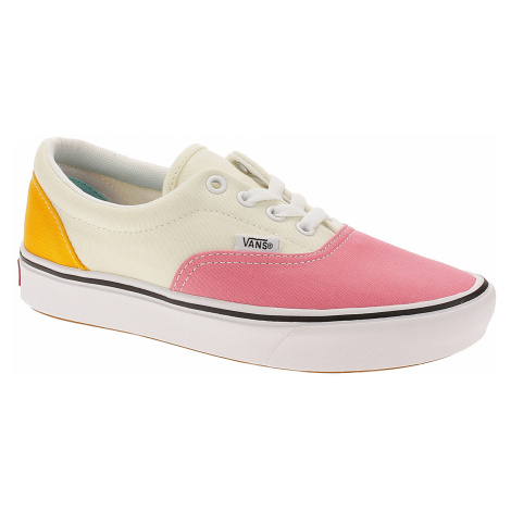 shoes Vans ComfyCush Era - Canvas/Strawberry Pink/Zinnia/True White