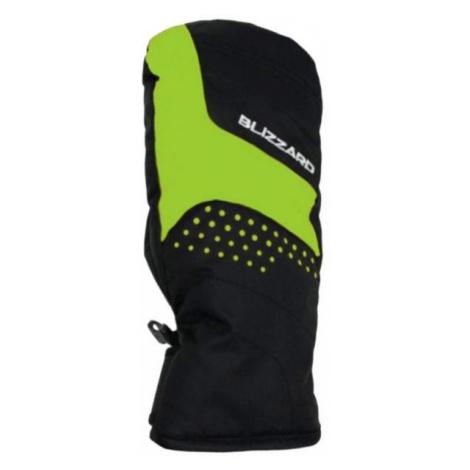 Blizzard MITTEN JNR SKI GLOVES green - Gloves