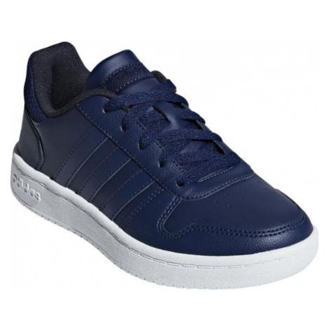 adidas HOOPS 2.0K dark blue - Boys' leisure shoes