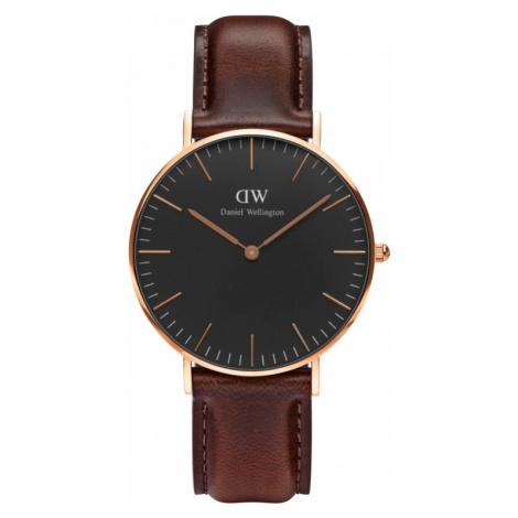 Unisex Daniel Wellington Classic Black Bristol Watch 36mm Watch DW00100137
