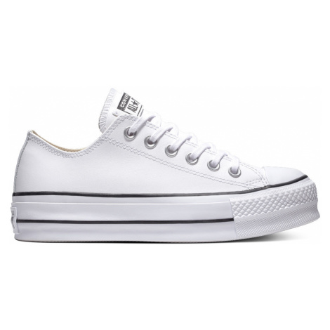 Chuck Taylor All Star Platform Clean Leather Low-Top