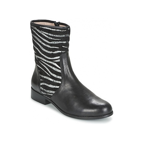 Mellow Yellow ALICIA women's Mid Boots in Black