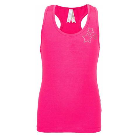 Lewro QUEENIE pink - Girls' tank top