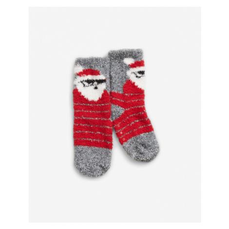 GAP Kids Socks Red Grey