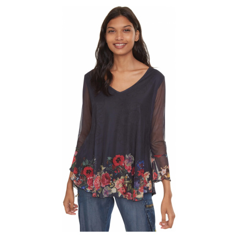 Desigual O'Hara Top Blue