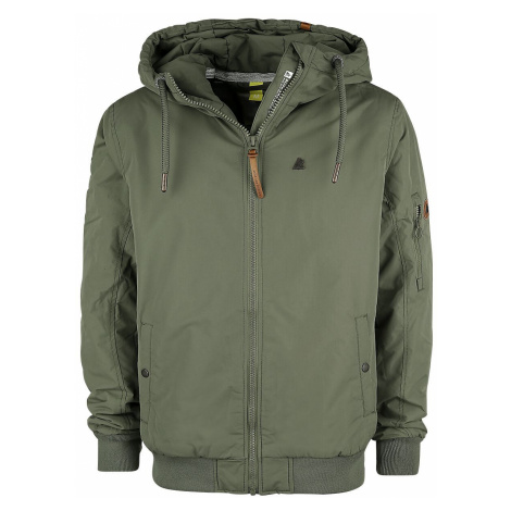 Alife and Kickin DonAK Winter Jacket dark green