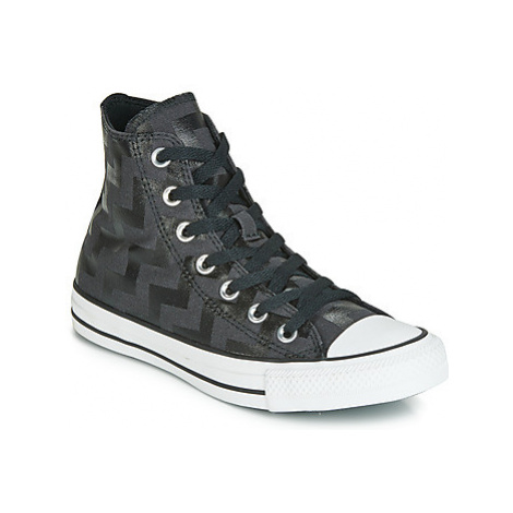 Converse CHUCK TAYLOR ALL STAR GLAM DUNK CANVAS HI women's Shoes (High-top Trainers) in Black