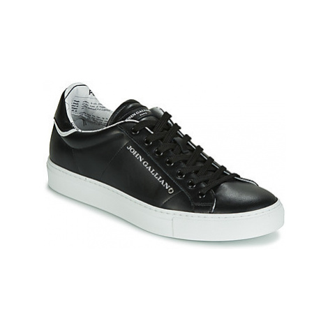 John Galliano 6723 men's Shoes (Trainers) in Black