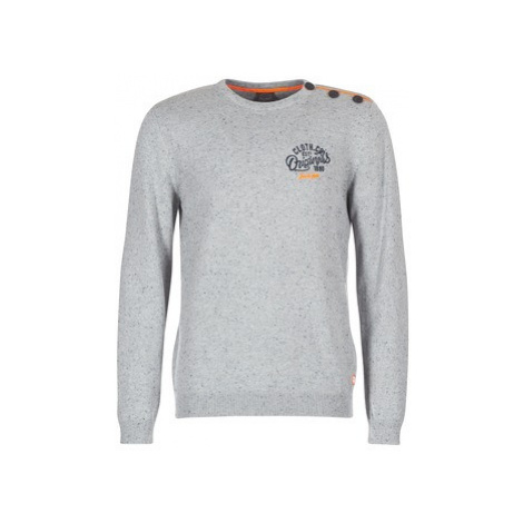 Jack Jones JORTRAST men's Sweater in Grey Jack & Jones