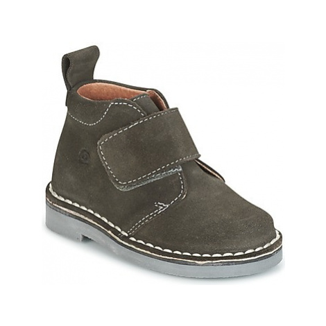 Citrouille et Compagnie ISINI girls's Children's Mid Boots in Grey