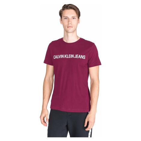 Calvin Klein T-shirt Pink Violet