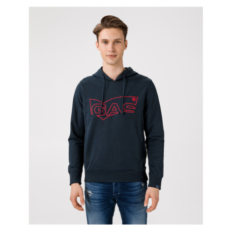 GAS Lustig/S Sweatshirt Blue