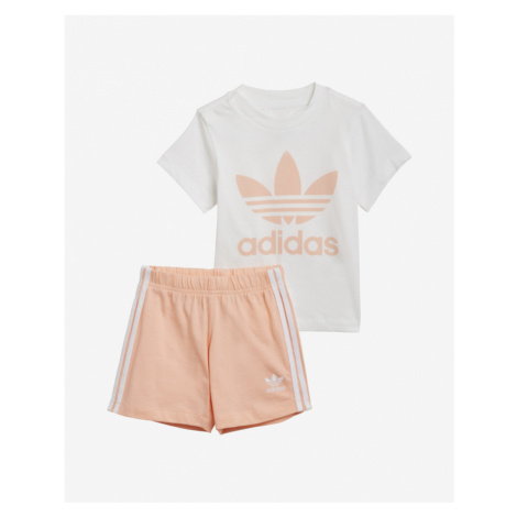 adidas Originals Trefoil Kids Set White Beige