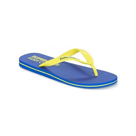 Superdry SUPERDRY SLEEK FLIP FLOP men's Flip flops / Sandals (Shoes) in Yellow