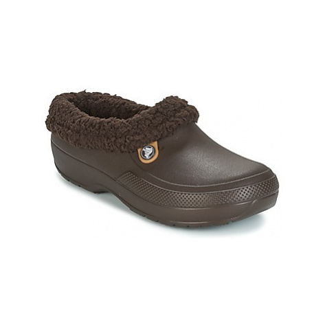 Brown women's home shoes
