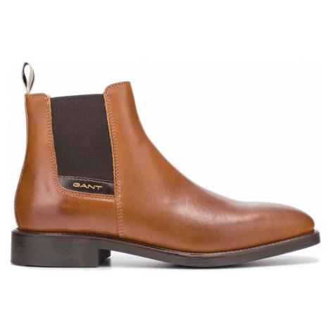Gant James Ankle boots Brown Orange