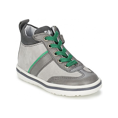 Acebo's ABARNE girls's Children's Shoes (High-top Trainers) in Grey