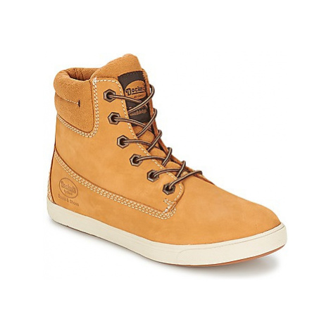 Dockers by Gerli GUINOUDE men's Shoes (High-top Trainers) in Beige