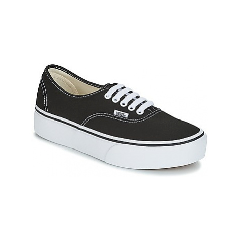 Vans AUTHENTIC women's Shoes (Trainers) in Black
