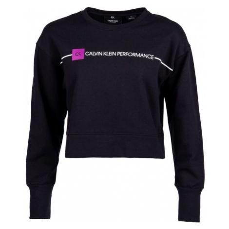 Calvin Klein PULLOVER black - Women's sweatshirt