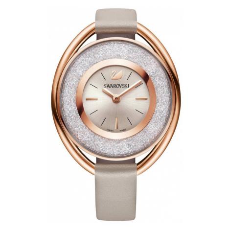 Swarovski Watch Crystalline Oval Rose Gold Tone