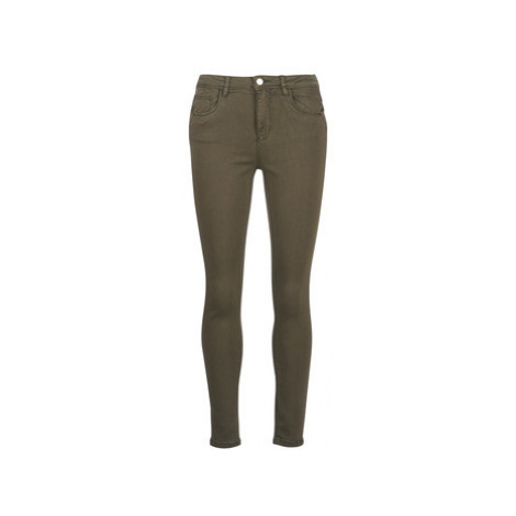 Only ONLBLAIR women's Trousers in Kaki