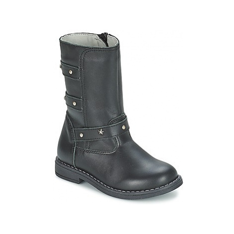 Citrouille et Compagnie ELZA girls's Children's High Boots in Black