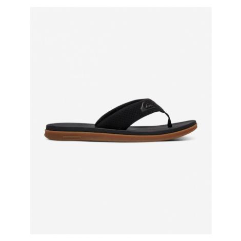 Quiksilver Haleiwa Plus Flip flops Black Brown