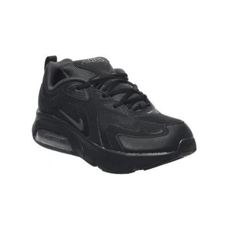 Nike Air Max 200 Gs BLACK ANTHRACITE