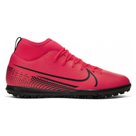 Nike JR MERCURIAL SUPERFLY 7 CLUB TF pink - Kids' turf football shoes