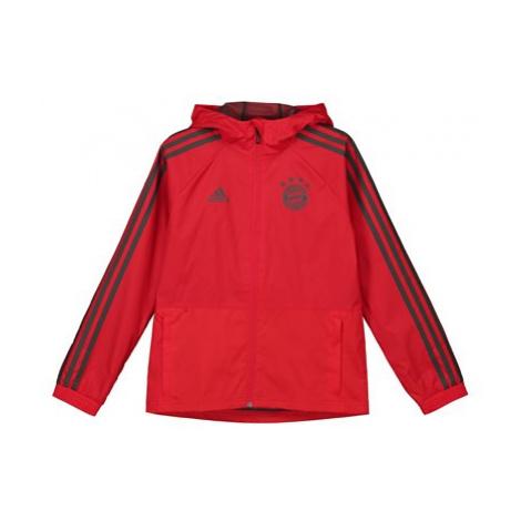 FC Bayern Training Rain Jacket - Red - Kids Adidas