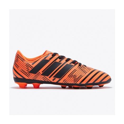 Adidas Nemeziz 17.4 Firm Ground Football Boots - Solar Orange/Core Black/Solar Orange - Kids